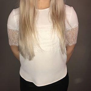 Zara white. Shirt